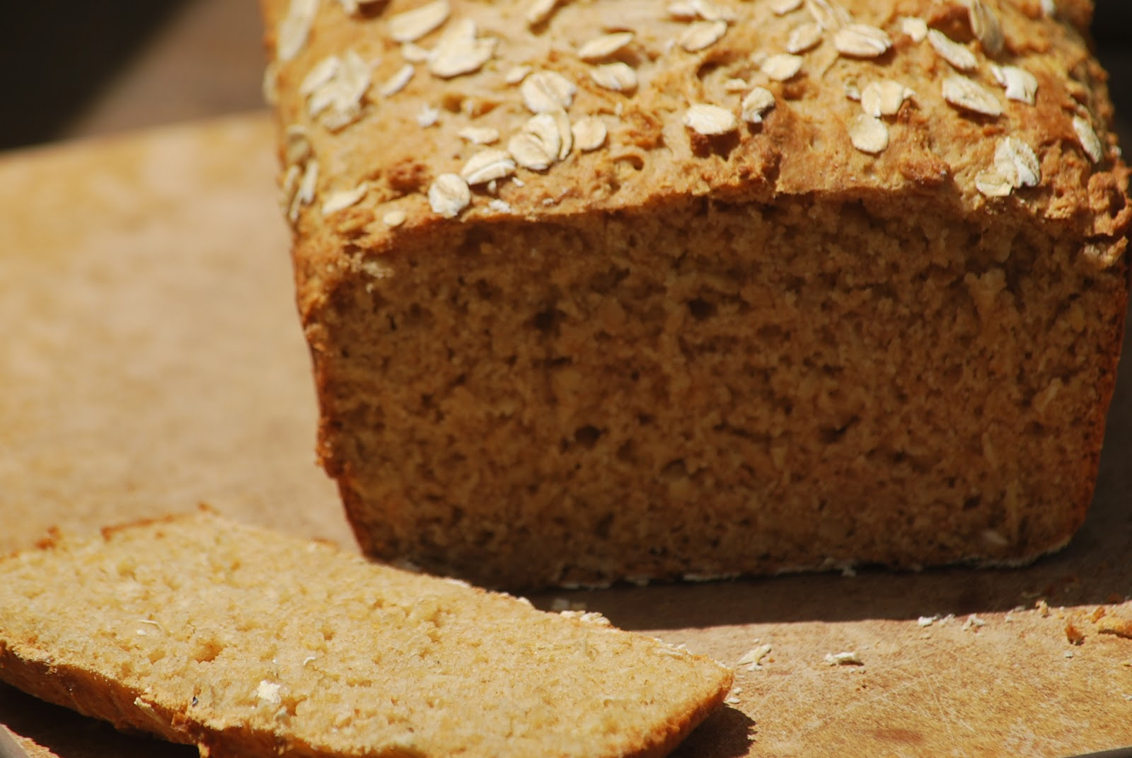 My story in recipes: Honey Oat Quick Bread