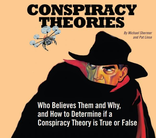 Ciencia y realidad o conspiranoia y fantasmas