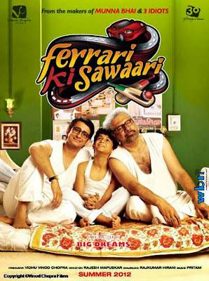 Ferrari Ki Sawaari 2012 Hindi HDRip 480p 400mb