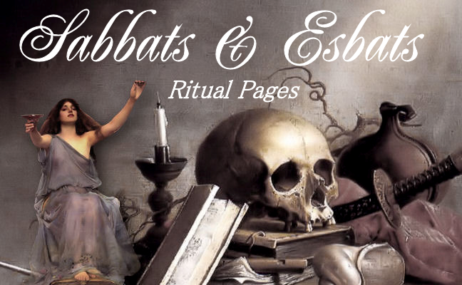 Sabbat & Esbat Ritual Pages