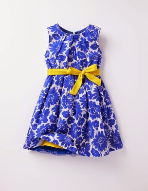 Mini Boden Vintage Dress 33294 Easter Springtime Party Dress