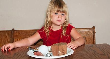 gadis pemakan bata