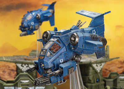Ultramarines Stormtalon Gunship
