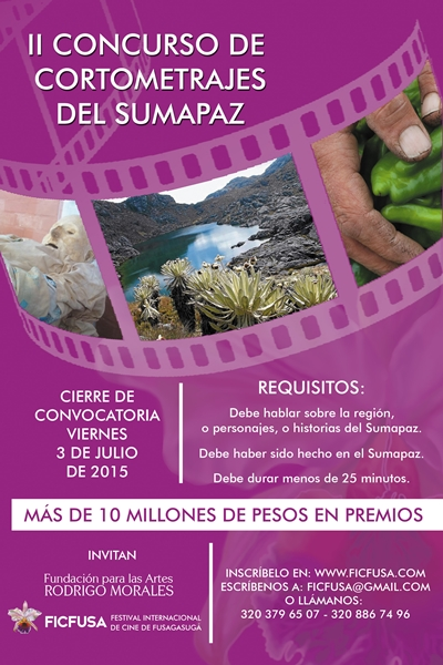 FUSAGASUGÁ: FICFUSA 2015