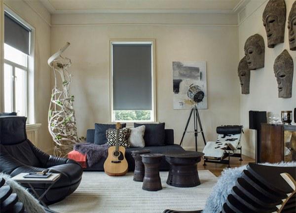 Dekorasi Dinding Modern untuk Ruang Tamu
