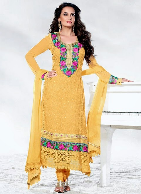 Salwar Kameez Fashion / Trend in 2014-2015 | Salwar Kameez Dresses for ...