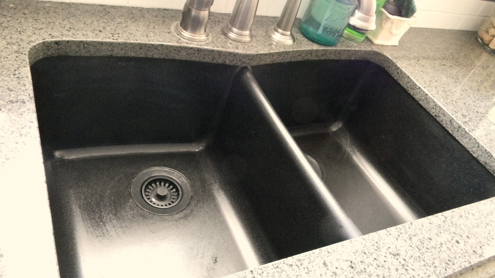 Stone Sink Cleaner : ave you ever wondered how to keep your granite sink looking new? I ...