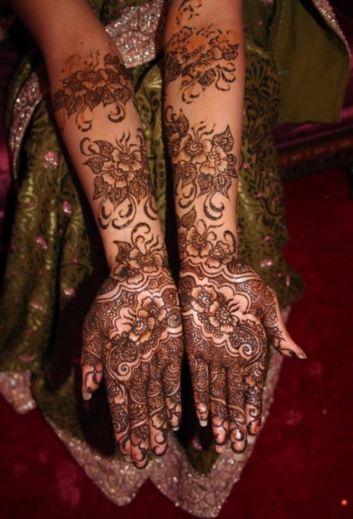 Mehndi Patterns And Their Meanings : Simple mehndi designs henna bridal