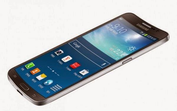 Samsung Galaxy Round Concave Phone
