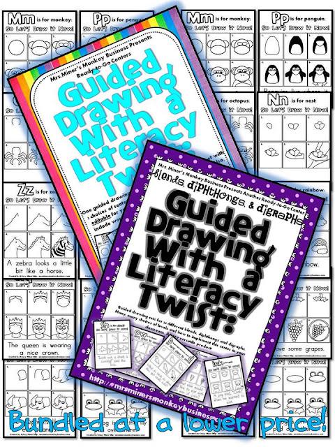 http://www.teacherspayteachers.com/Product/Draw-It-Now-Bundle-Literacy-Centers-ABCs-Blends-Digraphs-Diphthongs-784984