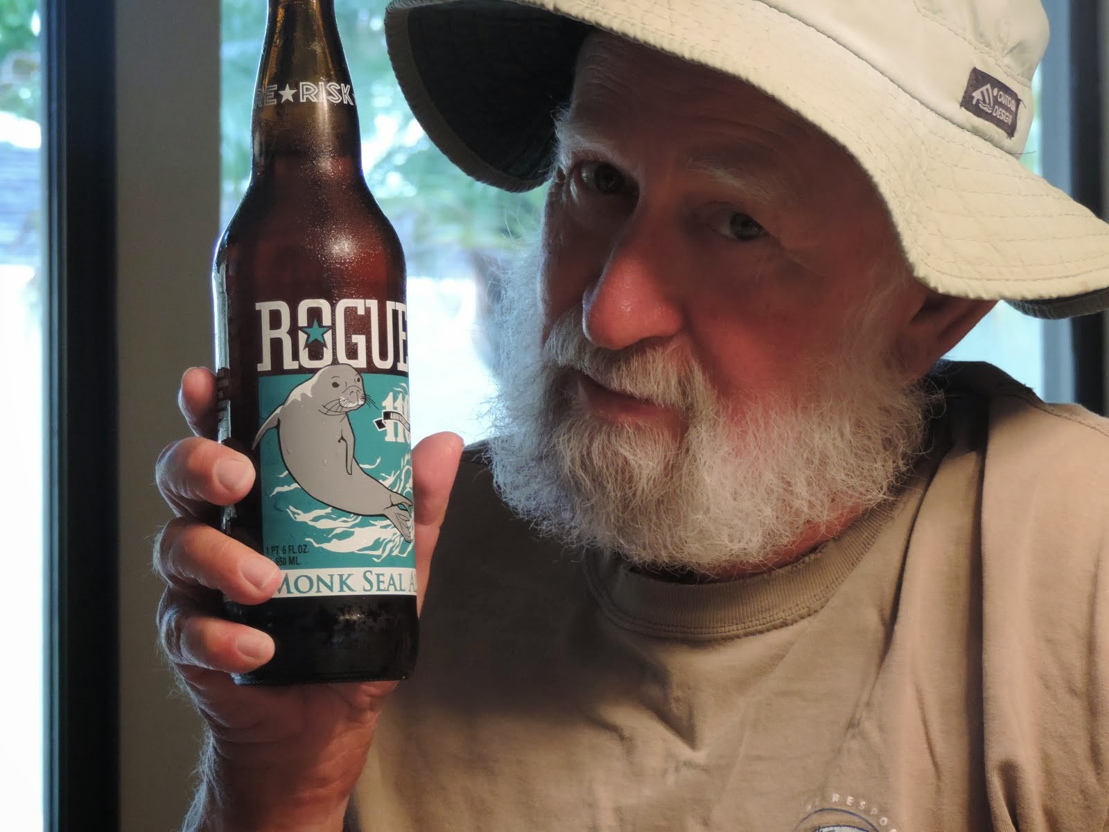 Limited Edition Rogue Monk Seal Ale