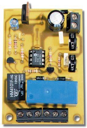 utiliser détecteur mouvement comme relais