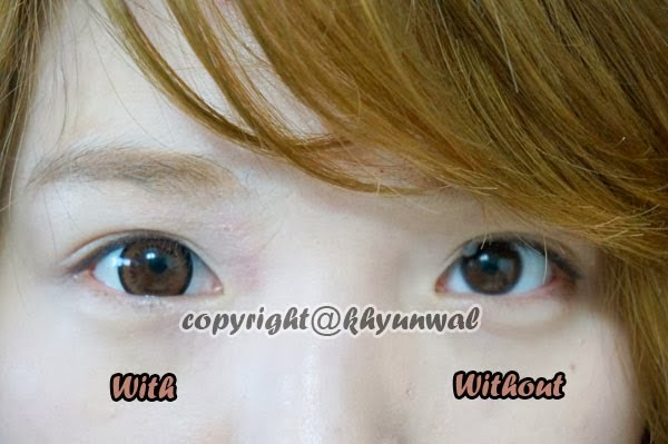 I.Fairy Almond Brown Colored Contacts