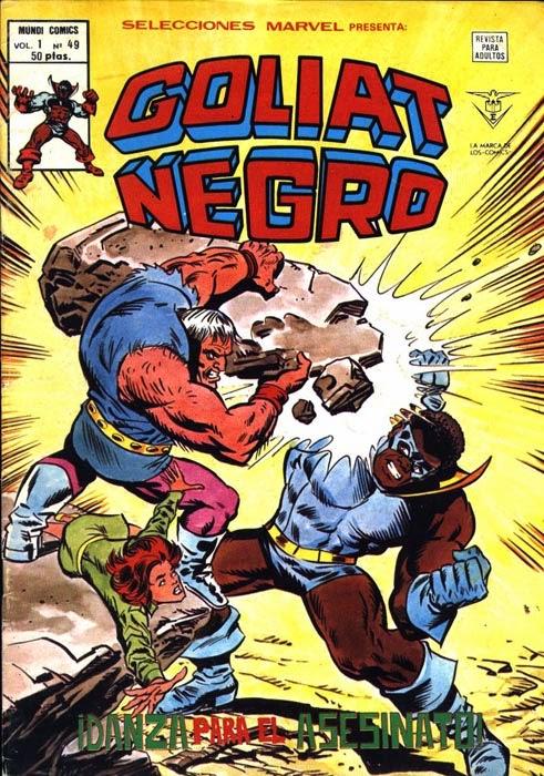 Portada de Goliat Negro-Selecciones Marvel Volumen 1