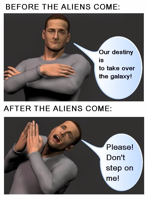when the aliens arrive
