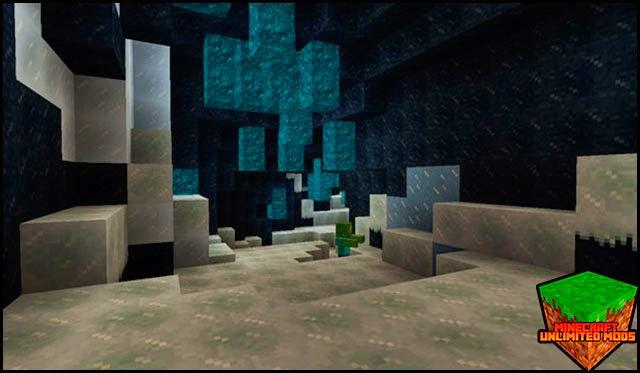 Elemental Caves Mod hielo