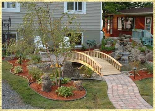 Muebles y decoraci n de interiores dise o de jardines al for Jardines con estilo