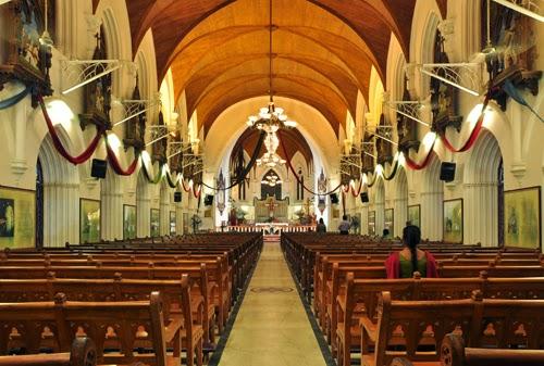 San Thome Cathedral Basilica , Chennai