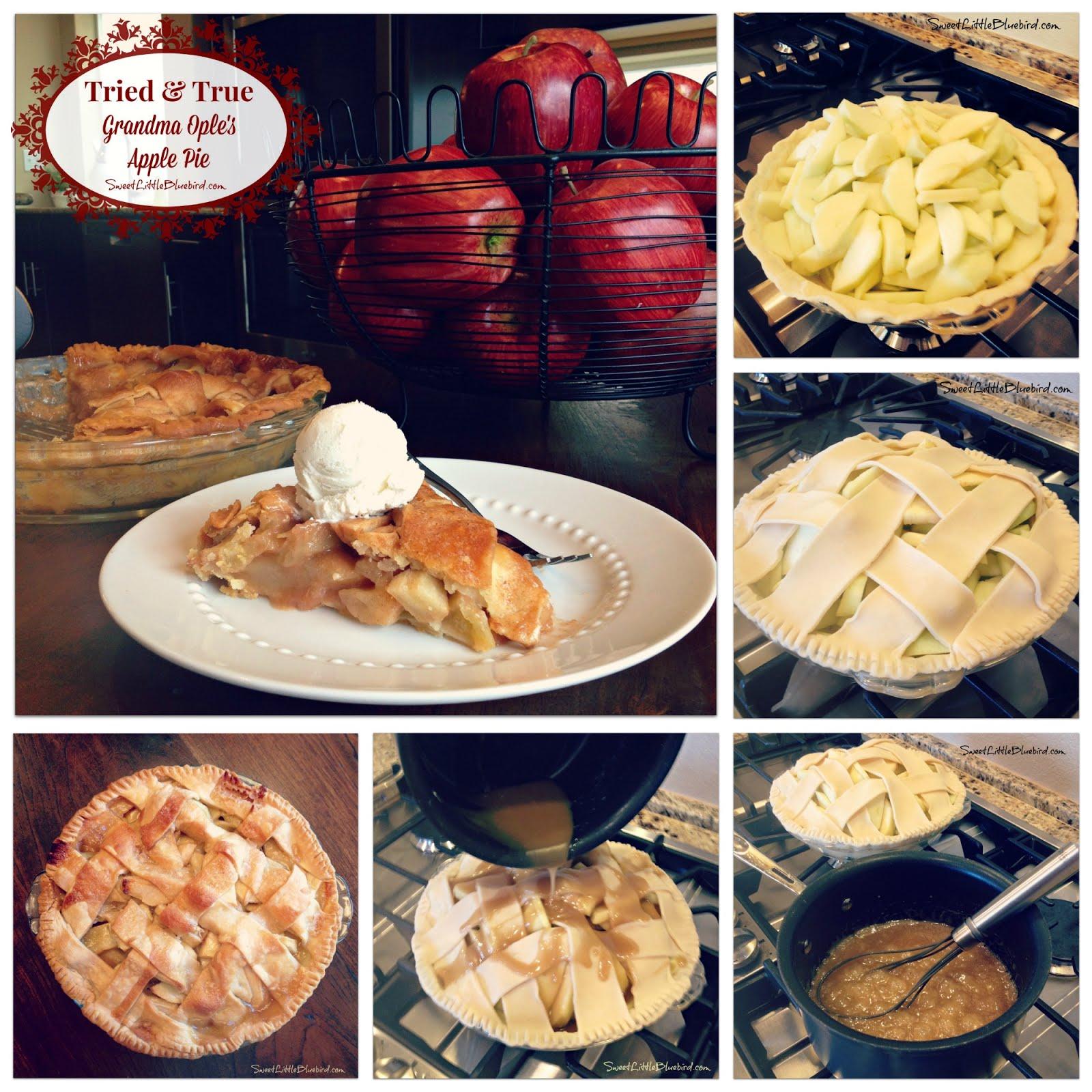 Grandma Ople's Famous Apple Pie