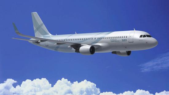 Gambar Pesawat ACJ 320