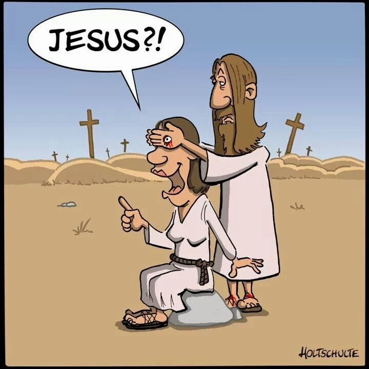 Funny Jesus Guess Who Holy Fun Joke Picture