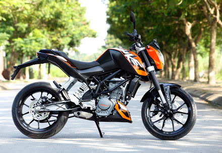KTM Duke 125 ABS 2013 gia re