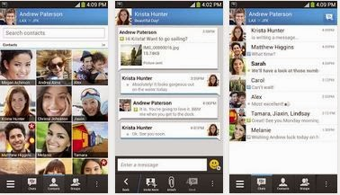 Best messaging app for android phone BBM