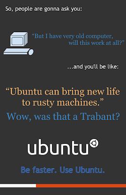 Ubuntu lebih cepat ketimbang Windows