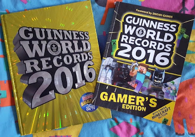 Guinness World Records 2016 and the GWR Gamer's Edition Review