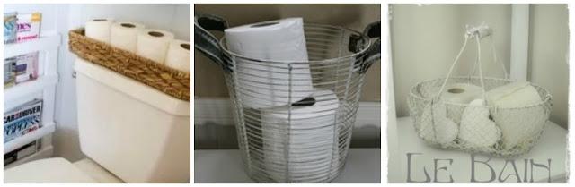 Organizar o banheiro | Cestos para papel