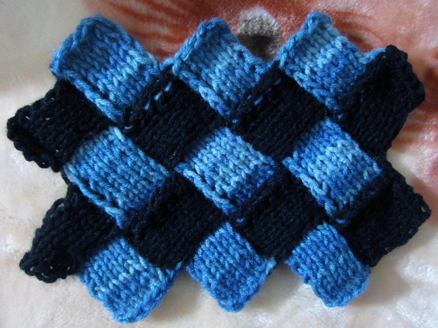 Knitting Tutorial : Image gallery entrelac knitting