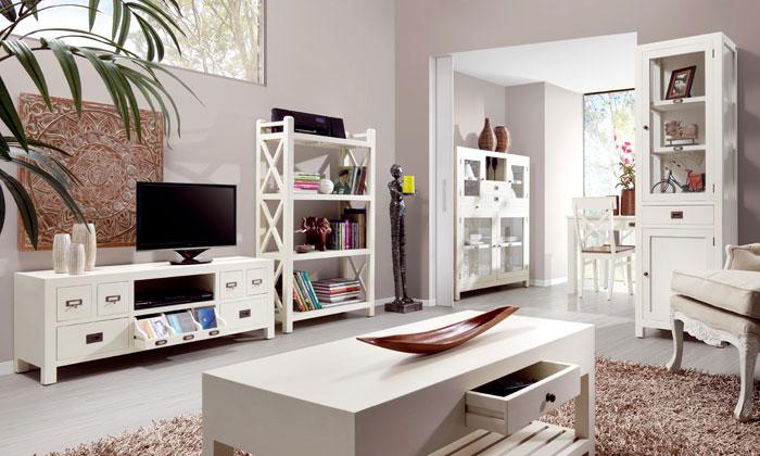 La web de la decoracion y el mueble en la red muebles for Muebles rusticos blancos