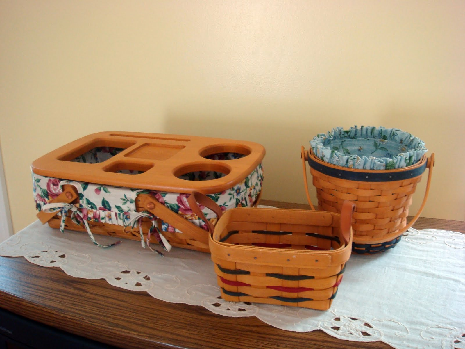 Handy Man, Crafty Woman: Have You Seen These (Longaberger) Baskets?