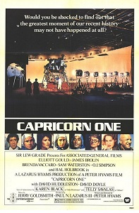 Poster original de Capricornio Uno