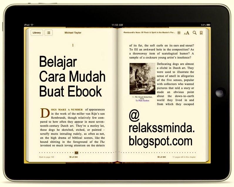 Belajar Cara Mudah Buat Ebook