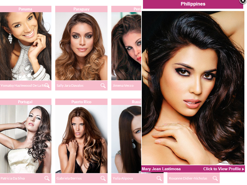Miss {hilippines Mary Jean Lastimosa in Miss Universe 2014