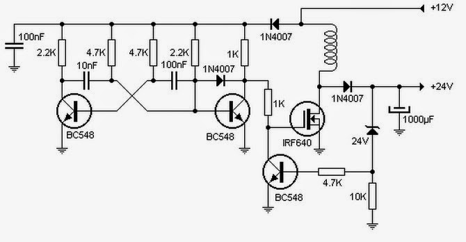 12v to 5v dc converter using zener diode and transistor