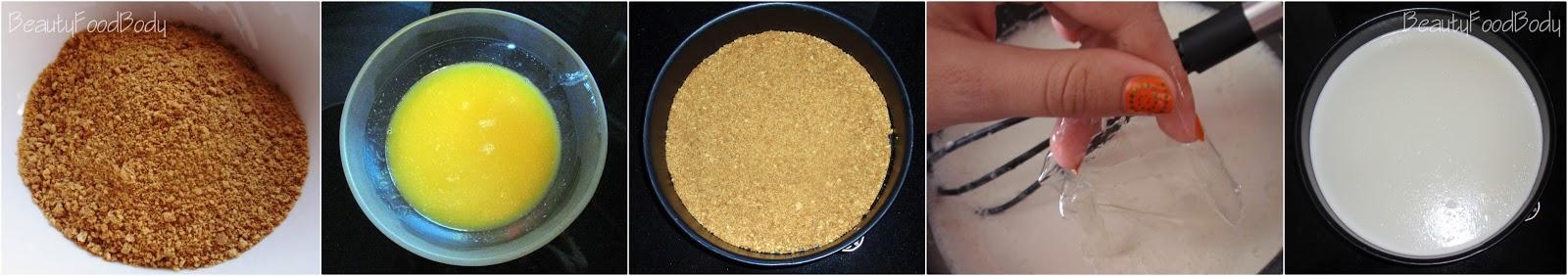 receta tarta de queso cheesecake sin horno rubibeauty beautyfoodbody elaboracion