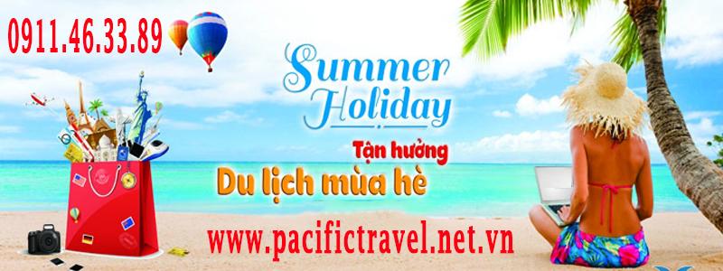 summer holiday tan huong mua he www.pacifictravel.net.vn