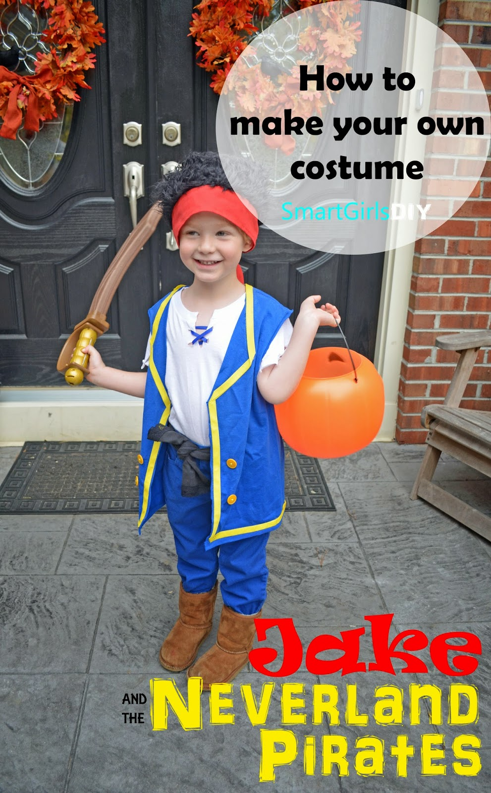 Diy Baby Girl Pirate Costume Pirates - Smart Girls DIY