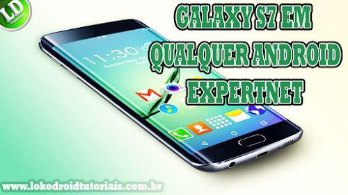 Personalização Android | Launcher do Samsung Galaxy S7 em qualquer Android