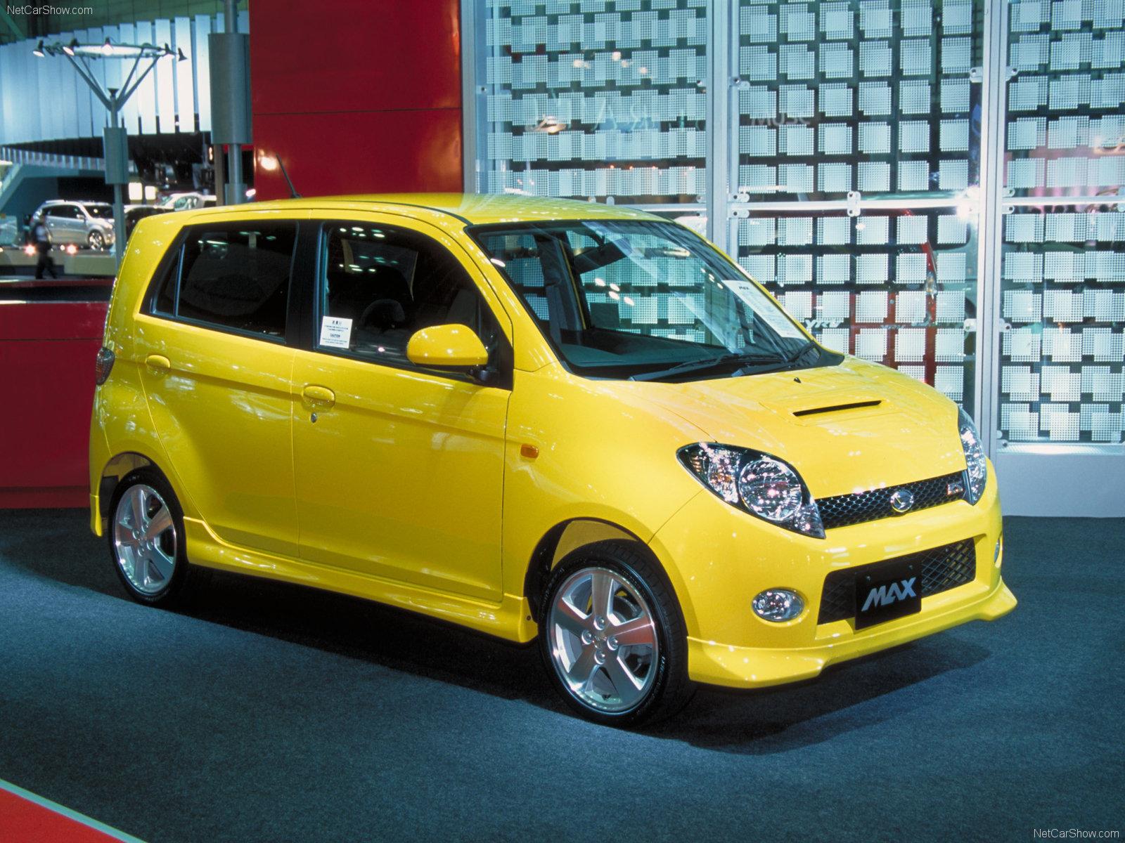 Hình ảnh xe ô tô Daihatsu Max Concept 2003 & nội ngoại thất