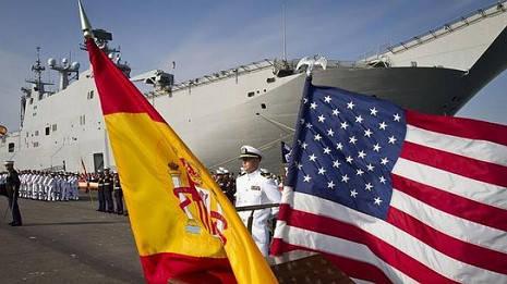 Sistema anti-misiles España EE.UU.