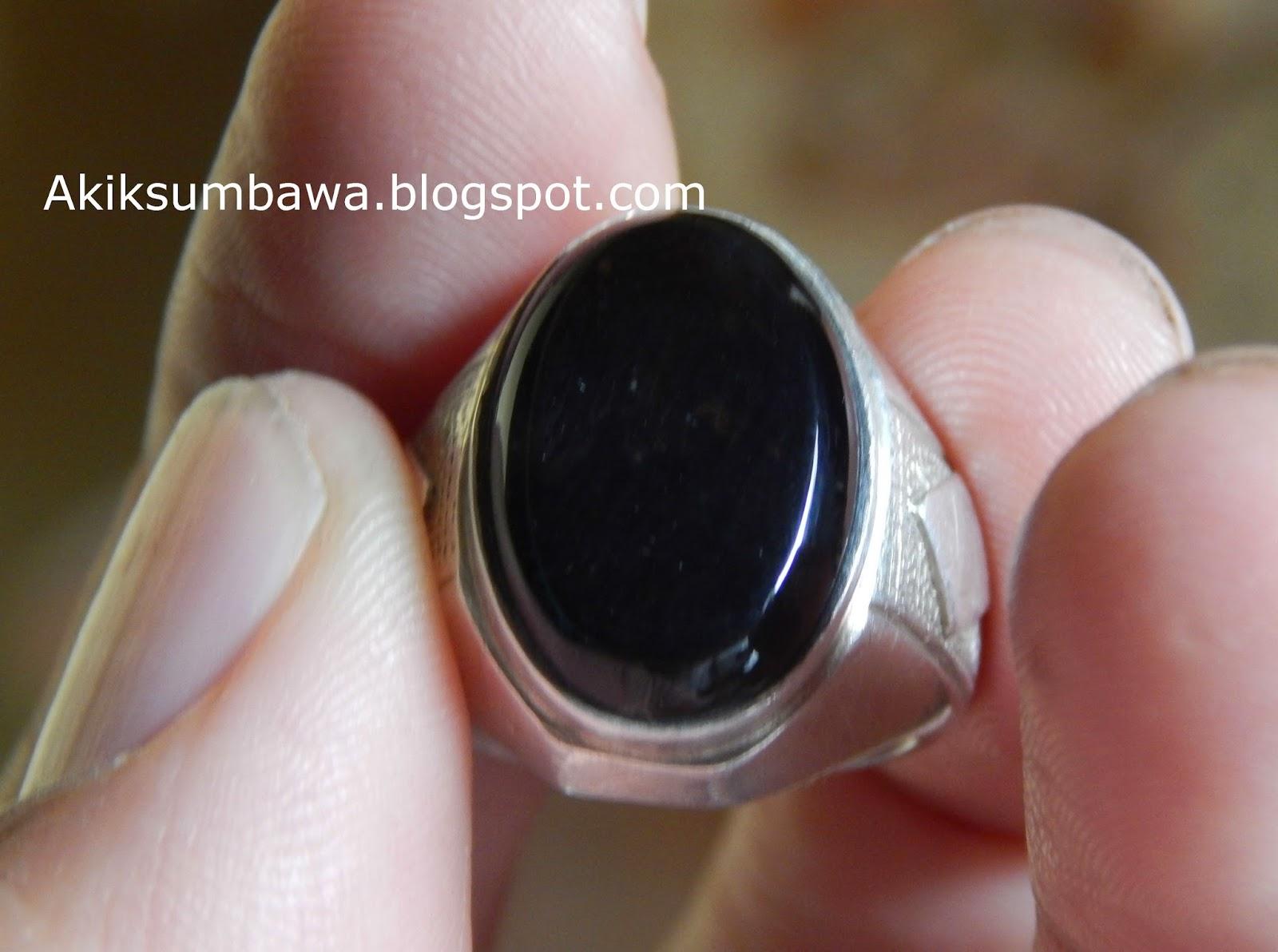 Batu Akik Black Lawen Sumbawa
