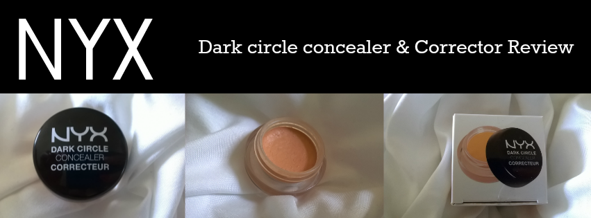 concealer, nyx, NYX Dark circle concealer & corrector review, dark circles, under eye,
