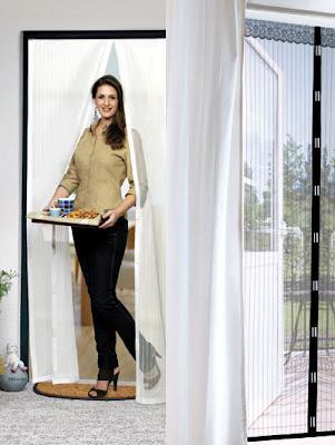 Zanzariera tenda con magneti contro le zanzare in casa - Zanzare in casa nonostante zanzariere ...