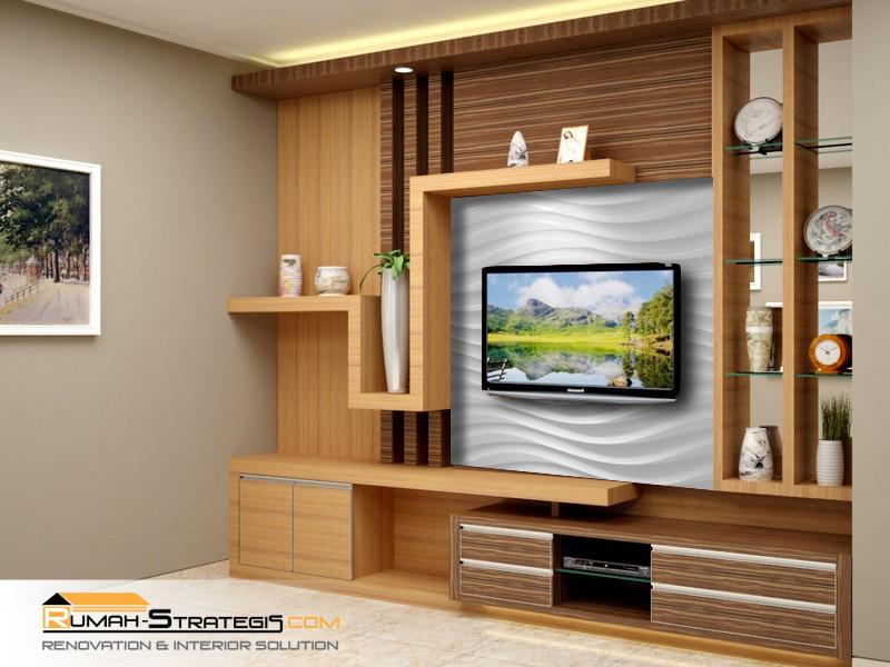 Lampirkan 3 Desain Rak tv.