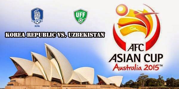 Prediksi Piala Asia : Korea Republic vs Uzbekistan