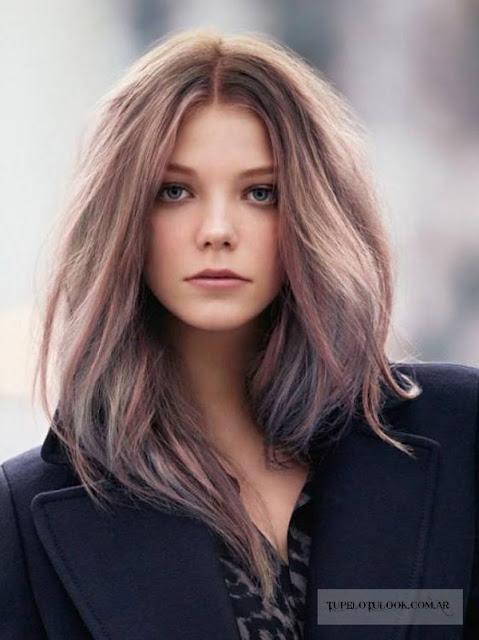mechas claras pelo castaño 2015