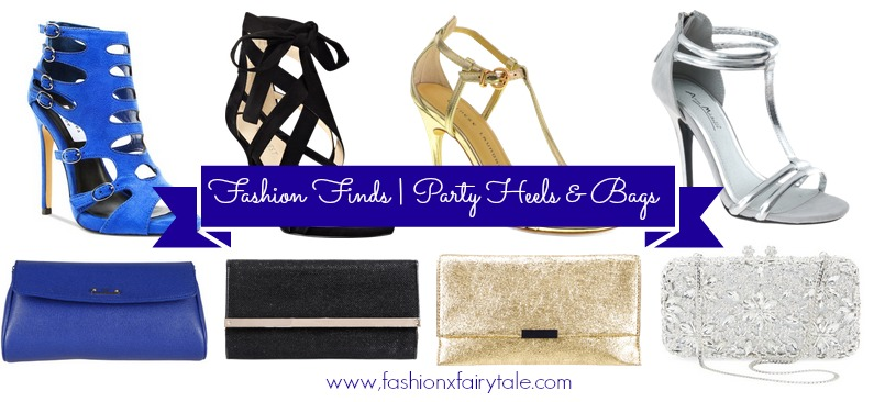 Fashion Finds | Party Heels & Clutches